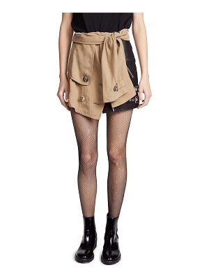 Alexander Wang trench skirt