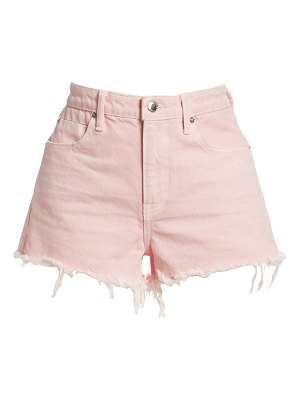 alexanderwang.t bite cut-off denim shorts