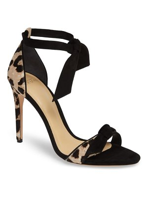 Alexandre Birman clarita genuine calf hair ankle tie sandal