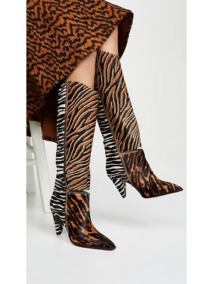 Alexandre Birman dora pony 90mm boots