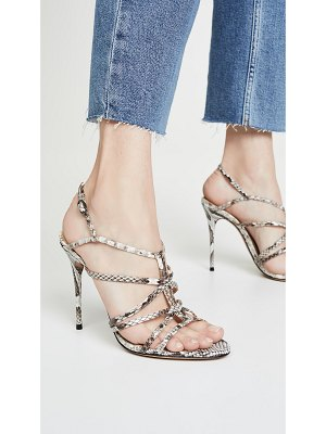 Alexandre Birman emma cage 100mm exotic sandals