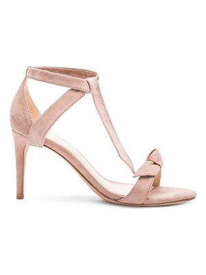 ALEXANDRE BIRMAN Suede Patty Sandals