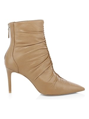 Alexandre Birman susanna leather heeled booties