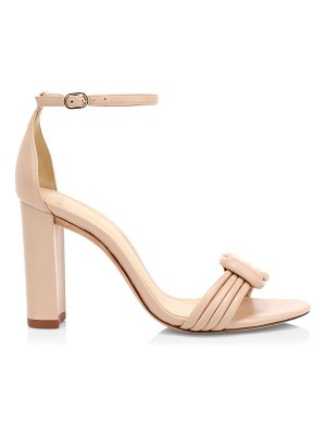 Alexandre Birman vicky ankle-strap block heel leather sandals