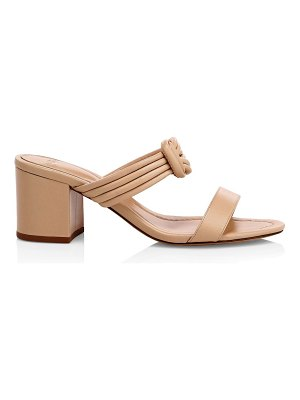 Alexandre Birman vicky knotted leather mules