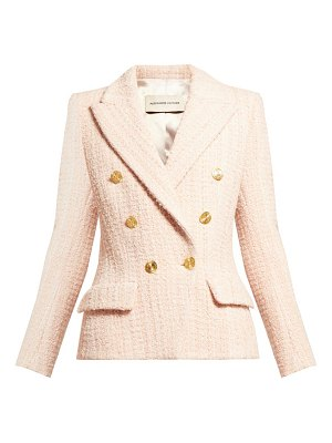 Alexandre Vauthier double breasted wool blend tweed jacket
