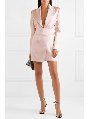 Alexandre Vauthier satin mini dress