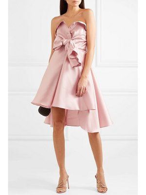 Alexis Mabille tie-detailed faille mini dress