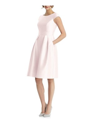Alfred Sung cap sleeve cocktail dress