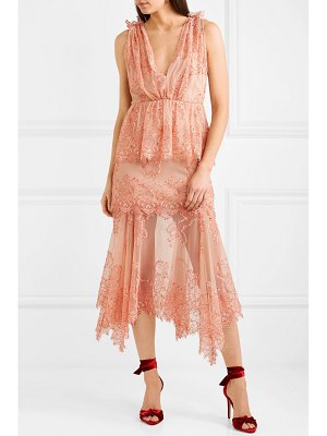 Alice McCall clementine tiered lace dress