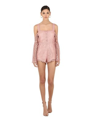 Alice McCall Follow me crochet romper