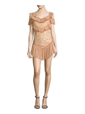Alice McCall lovebirds short ruffle dress
