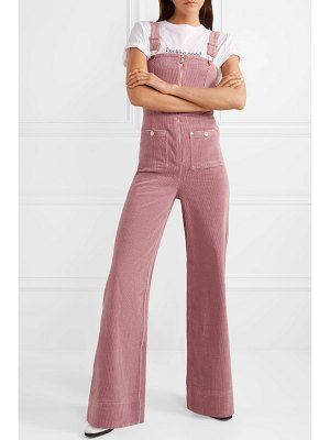 Alice McCall quincy stretch-cotton corduroy overalls