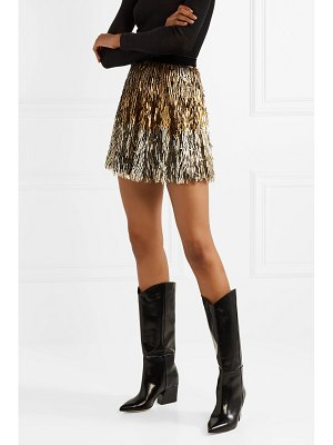 Alice + Olivia alice olivia - cina sequined tulle mini skirt