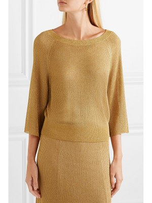 Alice + Olivia alice olivia - nakita ribbed lurex sweater