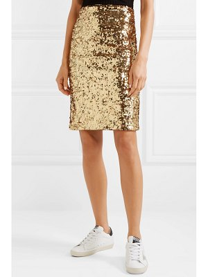 Alice + Olivia alice olivia - ramos sequined stretch-tulle skirt