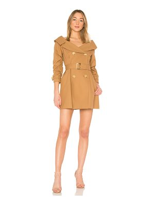 ALICE + OLIVIA Candace Trench Coat Dress