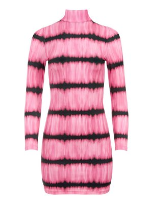 Alice + Olivia delora mockneck mini dress