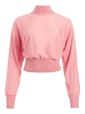 Alice + Olivia dia slouchy stretch-wool dolman sweater