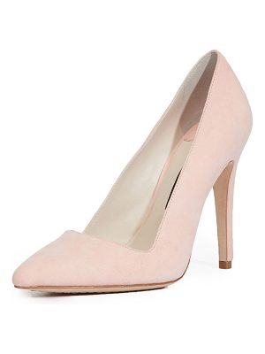 ALICE + OLIVIA Dina Suede 95mm Pump