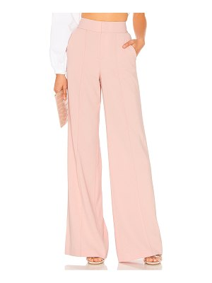 Alice + Olivia Dylan High Waisted Fitted Pant
