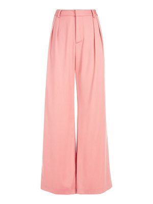 Alice + Olivia eric high-waisted wide-leg pants