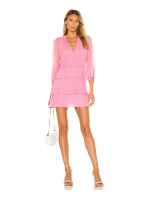 Alice + Olivia layla three tier ruffle dress