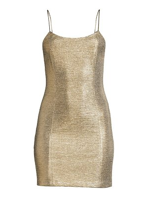 Alice + Olivia nelle sleeveless bodycon dress