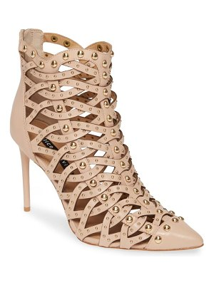 Alice + Olivia reiy studded cage bootie
