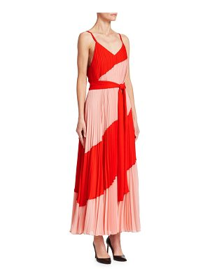 ALICE + OLIVIA Rozlyn Colorblock Maxi Dress