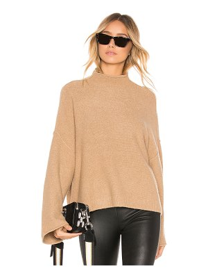 Alice + Olivia Simona Bell Sleeve Turtleneck