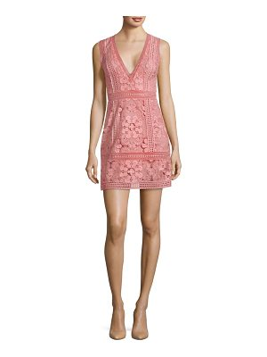Alice + Olivia zula lace mini dress