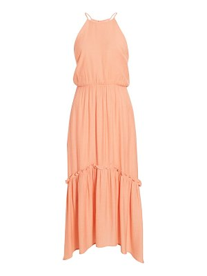 ALL IN FAVOR halter maxi dress