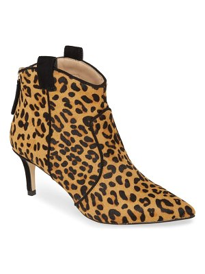 Allegra James rachel genuine calf hair bootie