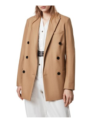 Allsaints astrid double breasted blazer
