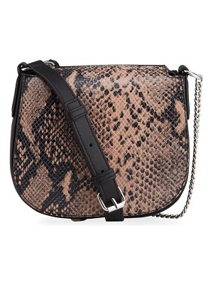Allsaints Ely Small Round Crossbody Bag