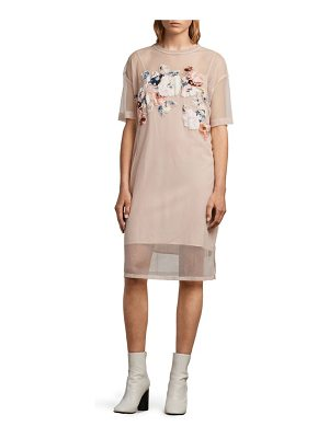 Allsaints kyla floral print dress