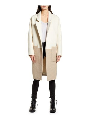 Allsaints rylee colorblock coat