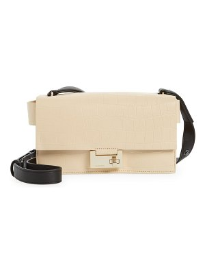 Allsaints teca crossbody bag in parchment white at nordstrom