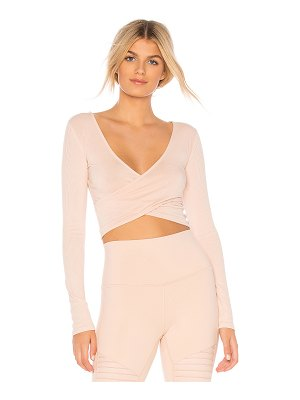 Alo Yoga Amelia Long Sleeve Top
