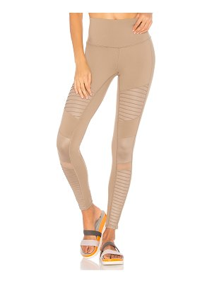 Alo Yoga High Waist Moto Legging