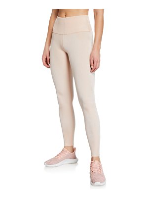 Alo Yoga Posh High-Waist Velour Leggings