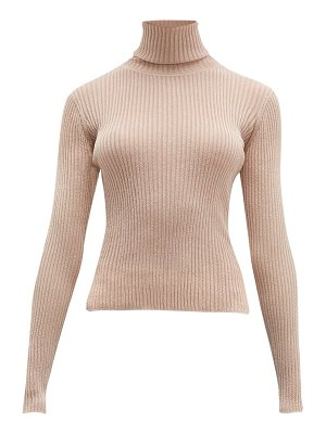 Altuzarra bryan roll neck rib knitted sweater