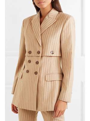 Altuzarra double-breasted pinstriped wool-blend blazer