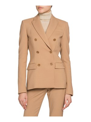Altuzarra Double-Breasted Stretch Wool Blazer