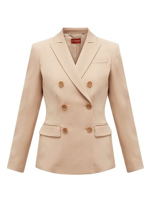 Altuzarra double-breasted wool-blend jacket