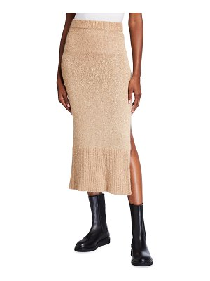 Altuzarra Kinsley Sequin Knit Midi Skirt