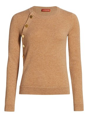 Altuzarra minamoto cashmere button knit sweater