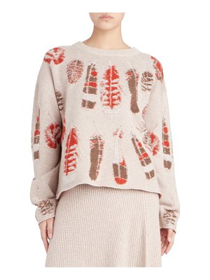 Altuzarra sedaka feather cashmere sweater