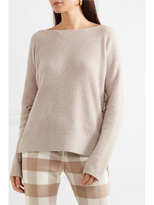 Altuzarra templar tie-back ribbed cashmere sweater